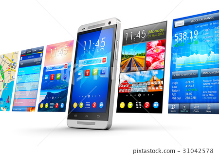 Mobile applications concept 31042578