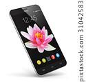 Modern touchscreen smartphone 31042583