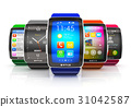Collection of smart watches 31042587