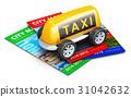 Taxi service concept 31042632