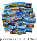 Set of colorful travel photos 31042640