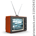 Old TV 31042643