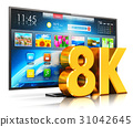 8K UltraHD smart TV 31042645