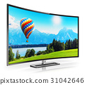 tv curved 4k 31042646