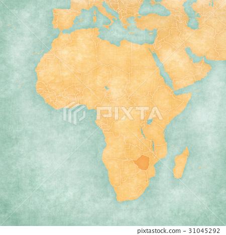 Map Of Africa Zimbabwe.Map Of Africa Zimbabwe Stock Illustration 31045292 Pixta