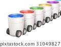 paint paints can 31049827