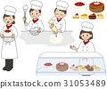 糖果店 蛋糕店 做蛋糕 31053489