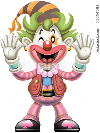 clown, healthy, character 31054693