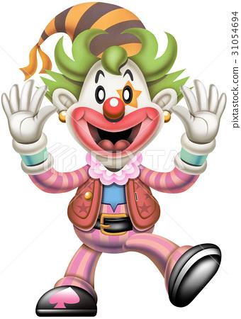 精力充沛的小丑 31054694