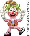 精力充沛的小丑 31054695