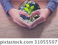 businessman hand shows heart sign as concept 31055507