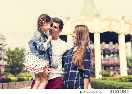 Family Holiday Vacation Amusement Park Togetherness 31059849