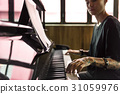 Grand Piano Pianist Musician Performer Melody 31059976