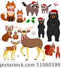 動物 父母和小孩 親子 31060396