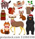 動物 聖誕時節 聖誕節 31060398
