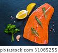 salmon, spice, raw 31065255