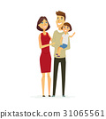 vector, people, family 31065561