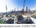 construction site, construction sites, foundation work 31065790