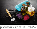 Beautiful Spa Set with Spa Products 31069452
