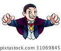 Cartoon Halloween Vampire 31069845