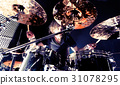 Live music and drummer.Music instrument 31078295