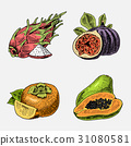 ผลไม้,สด,แข็งแรง 31080581