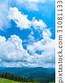 【나가노 현】 산의 자연 풍경 [여름] 31081133