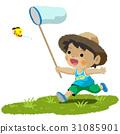 暑假 昆蟲採集 蝴蝶 31085901