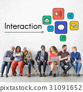 Interaction Online Community Stay Connected 31091652