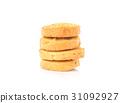 饼干 白色 背景 31092927