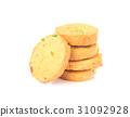 饼干 白色 背景 31092928