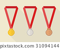 gold, silver, bronze 31094144