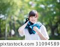 運動 一個年輕成年女性 女性 31094589
