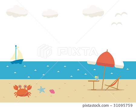 ชายหาด,รีสอร์ท,ฤดูร้อน 31095759