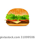 burger, cheese, hamburger 31099506