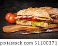 Delicious ciabatta sandwich 31100371