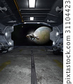 Spaceship Launch from Interstellar Space Station 31104423