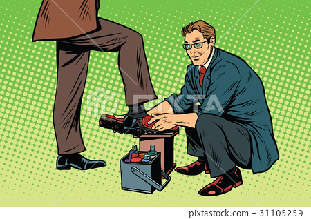 businessman Shoe Shiner 31105259