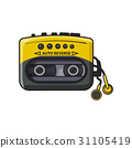 audio player vector 31105419