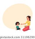 母亲 矢量 矢量图 31106290