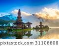 pura ulun danu bratan temple in Bali, indonesia. 31106608