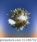 Conceptual Planet city 3d rendering 31106732