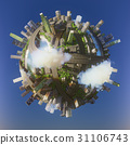 Conceptual Planet city 3d rendering 31106743