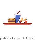 food, fast, burger 31106853
