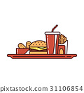 food, fast, burger 31106854