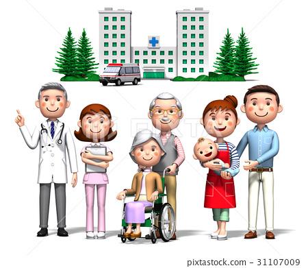 ครอบครัว,โรงพยาบาล,คน 31107009