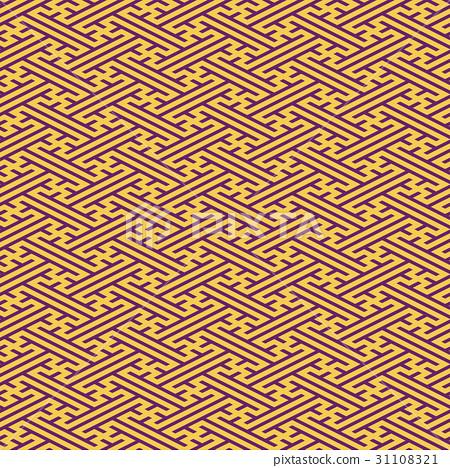 buddhist pattern pattern patterns stock illustration 31108321