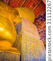 giant reclining golden Buddha statue at Wat Pho 31112267
