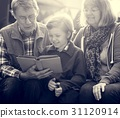 adult, book, grandson 31120914