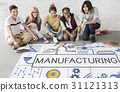 Manufacture Production Industry Ideas Concept 31121313